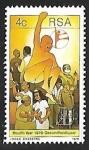 Sellos de Africa - Sudáfrica -  Year of Health
