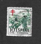 Sellos de Europa - España -  Edf 1104 - Pro Tuberculosos