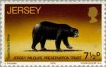 Sellos del Mundo : Europa : Isla_de_Jersey : Verdadera preservacion de la vida salvaje (2da serie)