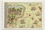 Sellos del Mundo : Asia : Timor_oriental : Mapas