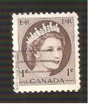 Sellos de America - Canadá -  INTERCAMBIO