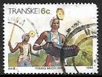 Sellos de Africa - Sudáfrica -  Transkei - conjuntos musicales