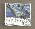 Sellos del Mundo : Oceania : Nueva_Zelanda : Dependencia de Ross , Foca comedora de cangrejos