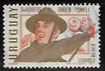 Sellos del Mundo : America : Uruguay : Robert Baden fundador Boy Scout