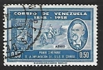 Sellos del Mundo : America : Venezuela : Jacinto Gutierrez y cartero a caballo