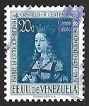 Sellos del Mundo : America : Venezuela : 5º aniversario del nacimiento  de Isabel La Catolica