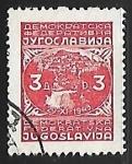 Sellos del Mundo : Europa : Yugoslavia : Ciudad de Jajce