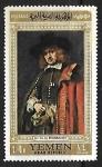 Sellos de Asia - Yemen -  Jan Six by Rembrandt