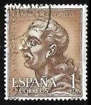 Sellos de Europa - España -  XII centenario de la fundacion de Oviedo - Fruela I