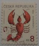 Sellos de Europa - República Checa -  Signos del Zodiaco