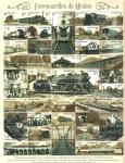 Sellos del Mundo : America : México :  Ferrocarriles de Mexico