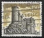 Sellos de Europa - España -  Castillos de España - Peñafiel  (Valladolid)