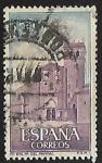 Sellos de Europa - España -  Monasterio de Sta. Maria del Parral - Fachada