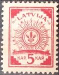 Sellos del Mundo : Europa : Letonia : Letonia - 1918