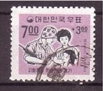 Sellos de Asia - Corea del sur -  Ejercito y ciudadanos