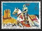Sellos de Europa - España -  Uniformes militares - Guardia Vieja de Castilla