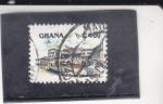 Sellos de Africa - Ghana -  FORTALEZA
