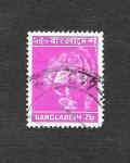Sellos de Asia - Bangladesh -  47 - Tigre