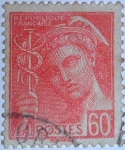 Sellos de Europa - Francia -  type mercure