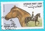 Sellos del Mundo : Asia : Afganistán : Caballo de monta Hannoveriano