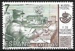 Sellos de Europa - España -  Museo Postal - Telegrafista