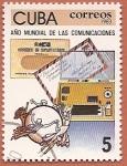 Sellos del Mundo : America : Cuba : Año Mundial de las Comunicaciones UIT