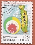 Sellos del Mundo : Africa : Togo : 10 aniv zona franca de Togo - Puerto de Lomé