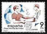 Sellos de Europa - España -  Copa mundial de futbol ESPAÑA 82