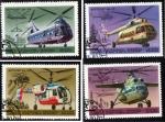 Sellos del Mundo : Europa : Rusia : 1980 helicopteros
