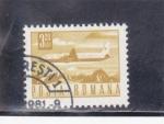 Sellos de Europa - Rumania -  AVION-