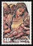 Sellos de Europa - España -  Navidad 1986 - La Sagrada Familia