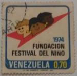 Sellos del Mundo : America : Venezuela : FUNDACION FESTIVAL DEL NIÑO