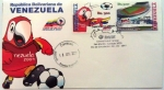 Sellos del Mundo : America : Venezuela : SOBRE DE PRIMER DIA COPA AMERICA 2007