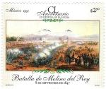 Sellos del Mundo : America : México : CL Aniversario en Defensa de la Patria Batalla de Molino del Rey