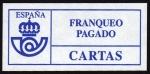 Sellos del Mundo : Europa : España : COL-FRANQUEO PAGADO / CARTAS