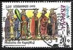 Sellos del Mundo : Europa : Eslovenia : Historia de España - Los Visigodos