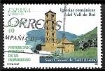 Sellos del Mundo : Europa : España :  Patrimonio Mundial de la Humanidad - Iglesias románicas del Vall de Boi