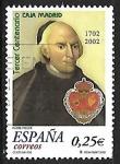 Sellos del Mundo : Europa : España :  III centenario Caja de Madrid - Padre Francisco Piquer