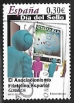 Sellos de Europa - España -  Dia del Sello - El aseciacionismo Filatélico Español