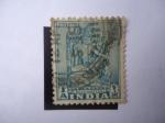 Sellos de Asia - India -  Estatua de un Boodhisattiva