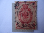 Sellos de Europa - Rusia -  Coat of Armas of Rusian Empire Postal Department with Crown