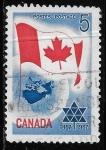 Sellos de America - Canadá -  can