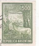 Sellos de America - Argentina -  CAZA MAYOR EN LOS LAGOS DEL SUR