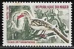 Sellos del Mundo : Africa : Nigeria : Northern Red-billed Hornbill