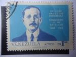 Sellos de America - Venezuela -  Dr. josé Gregorio Hernández - Centenario de su  Natalicio. 1864-1964