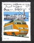 Sellos del Mundo : Africa : Somalia : Tren