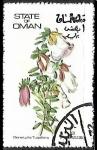 Sellos del Mundo : Asia : Omán : Genetylis Tulipifera
