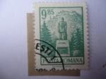 Sellos de Europa - Rumania -  Fortaleza Medieval