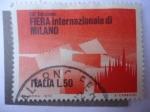 Sellos de Europa - Italia -  Feria Internacional de Milán
