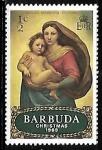 Sellos del Mundo : America : Barbados : Navidad 1969